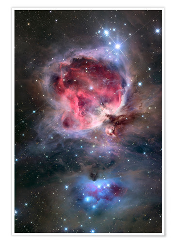 Poster Premium The Orion Nebula