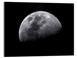 Stampa su vetro acrilico  Waxing gibbous moon - Roth Ritter