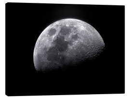 Stampa su tela  Waxing gibbous moon - Roth Ritter