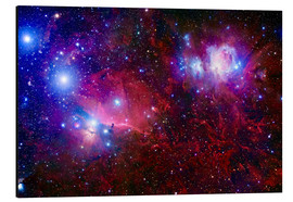 Alluminio Dibond  The Belt Stars of Orion - Robert Gendler