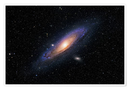Poster Premium The Andromeda Galaxy