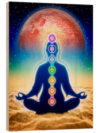 Legno  In Meditation With Chakras - Red Moon Edition - Dirk Czarnota