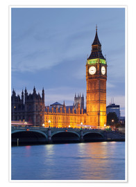 Poster Premium  Big Ben, London - Markus Lange