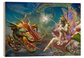 Legno  The dragon and the fairy - Adrian Chesterman