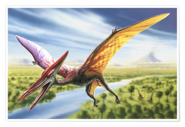 Poster  Pterodactyl - Adrian Chesterman