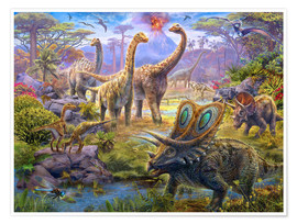 Poster Sauropods