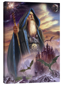 Stampa su tela  The high Mage - Dragon Chronicles