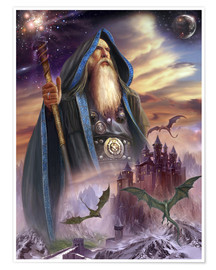 Poster Premium  The high Mage - Dragon Chronicles