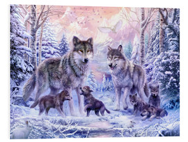 Forex  Winter Wolf Family - Jan Patrik Krasny