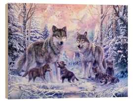 Legno  Winter Wolf Family - Jan Patrik Krasny