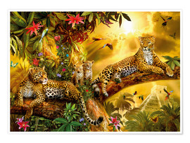 Poster  Jungle Jaguars - Jan Patrik Krasny