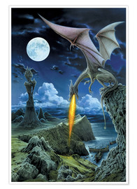 Poster Premium  Dragon spit - Dragon Chronicles