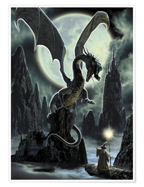 Poster Premium  Dragons rock - Dragon Chronicles