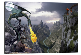 Stampa su alluminio  Dragon valley - Dragon Chronicles