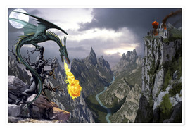 Poster Premium  Dragon valley - Dragon Chronicles