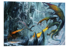 Stampa su PVC  The cave - Dragon Chronicles