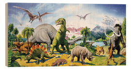 Legno  Land of the dinosaurs - Paul Simmons