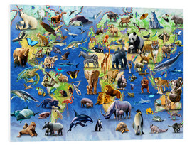 Forex  One Hundred Endangered Species - Adrian Chesterman