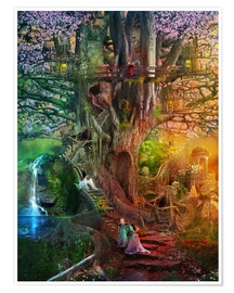 Poster Premium  The dreaming tree - Aimee Stewart