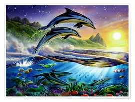 Adrian Chesterman - Atlantic dolphins