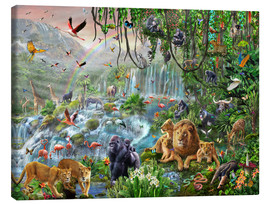 Adrian Chesterman - Jungle Waterfall