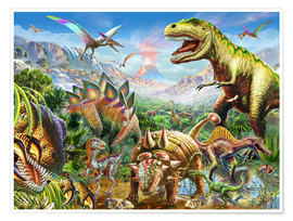 Poster Premium  Dino Group - Adrian Chesterman