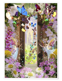Poster Premium  Fairy door - Garry Walton