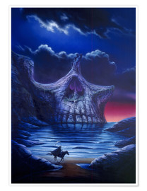 Poster Premium  Skull point - Garry Walton
