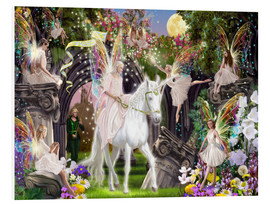 Forex  Fairy Queen with Unicorn - Garry Walton