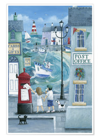 Poster Premium  Harbour Post - Peter Adderley