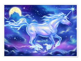 Poster Premium  Unicorn - Richard Kelly