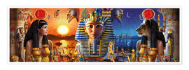 Poster Premium  Egyptian Triptych 2 - Andrew Farley