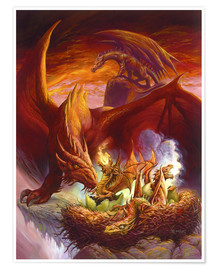 Poster  Children of the Dragon - Jeff Easley