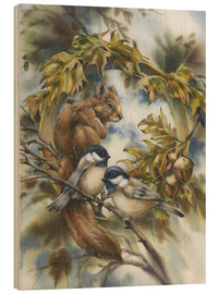 Stampa su legno  Some of my best friends - Jody Bergsma