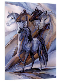 Stampa su schiuma dura  Inspired by the five winds - Jody Bergsma