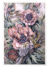 Poster Premium  Love is life sweetest flower - Jody Bergsma