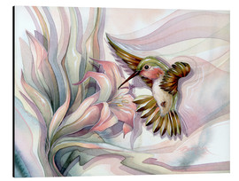 Stampa su alluminio  Spread your wings - Jody Bergsma