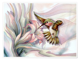Poster Premium  Spread your wings - Jody Bergsma