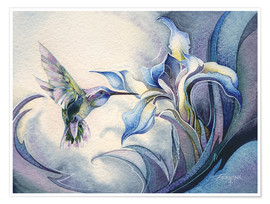 Poster Premium  Look for the magic - Jody Bergsma