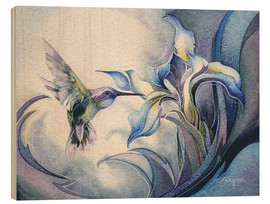 Stampa su legno  Look for the magic - Jody Bergsma