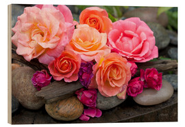 Stampa su legno  Dreaming of Roses - Andrea Haase Foto