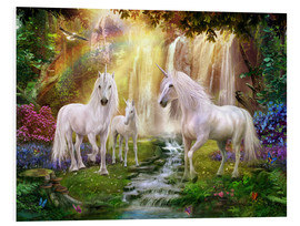 Forex  Waterfall Glade Unicorns - Jan Patrik Krasny