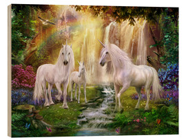 Legno  Waterfall Glade Unicorns - Jan Patrik Krasny
