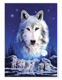 Poster  Night of the wolves - Robin Koni