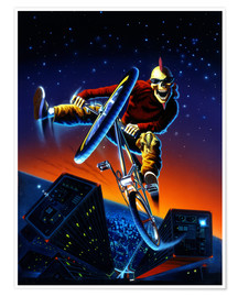 Poster  BMX - Extreme Zombies