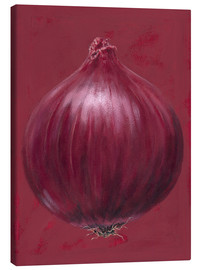 Stampa su tela  Red onion - Brian James