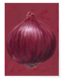 Poster Premium  Red onion - Brian James