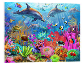 Forex  Dolphin Coral Reef - Adrian Chesterman
