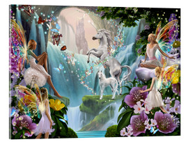Vetro acrilico  Unicorn Waterfall - Garry Walton