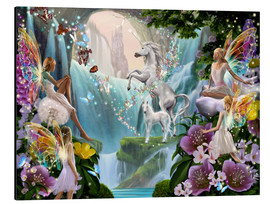 Alluminio Dibond  Unicorn Waterfall - Garry Walton
